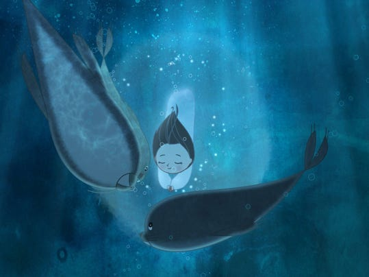 Sprightly 'Song of the Sea' could be the animated Oscar dark horse