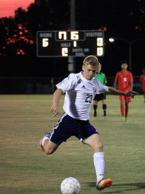 Nick Bezold plays soccer for Madison Academic High School.