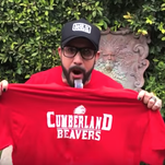 Backstreet Boys' AJ McLean helps announce snow day for a Wisconsin school district