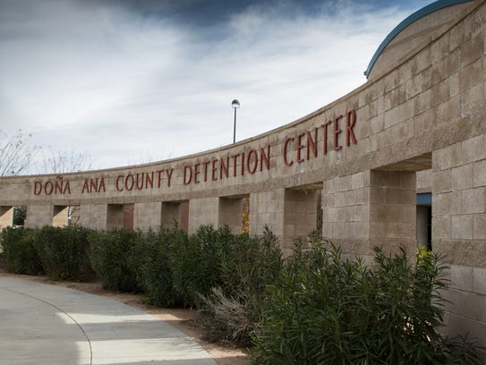 The Doña Ana County Detention Center houses about 700