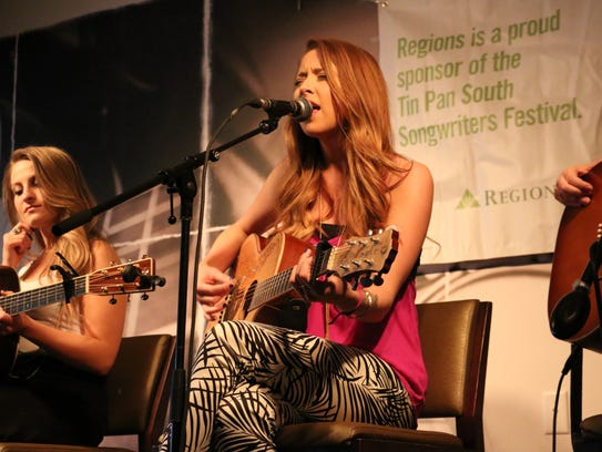 Kalie Shorr sings one of her female-empowering tunes