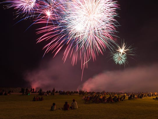 Independence Day fireworks will return Monday to the