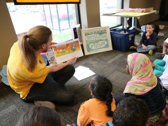 Artists Working in Education workshop at Tippecanoe