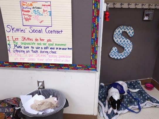 Students in Taylor Dearman's class at Kostoryz Elementary