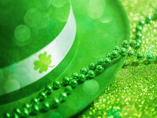 St Patrick's Day is Saturday, March 17.