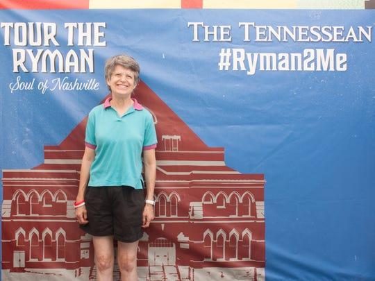 Stacy Harris at the 2015 Ryman Auditorium Community Day