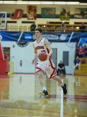 Dickinson College senior Ted Hinnenkamp was named to the preseason All-America team by the Sporting News. The York Suburban graduate averaged 12.9 points with 177 rebounds and 82 assists last year as a junior.
