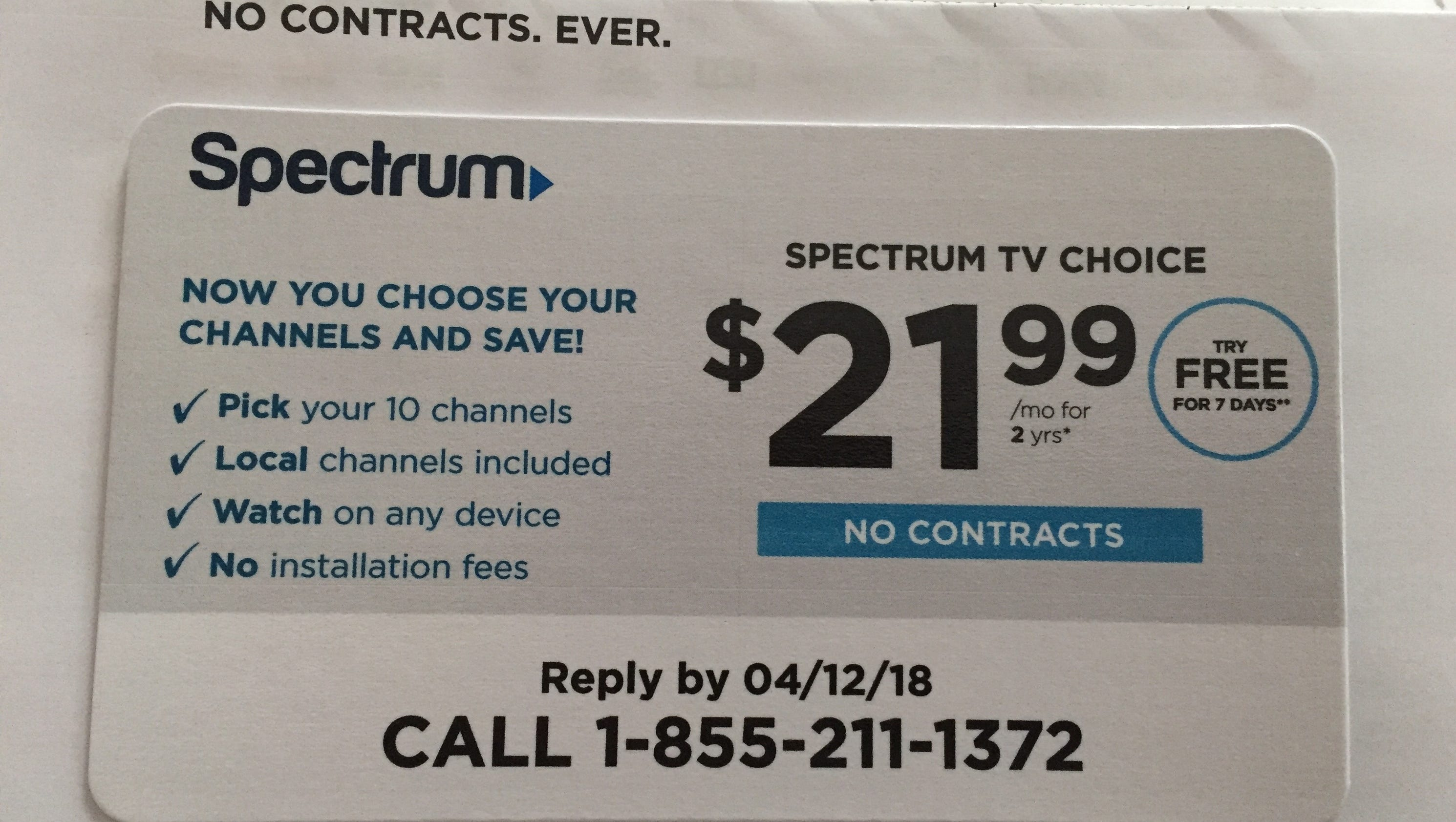 Charter Cable Packages >> Spectrum offers a-la-carte package targeting cord-cutters