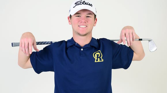 Roberson senior Matt Sharpstene has signed to play college golf for West Virginia.