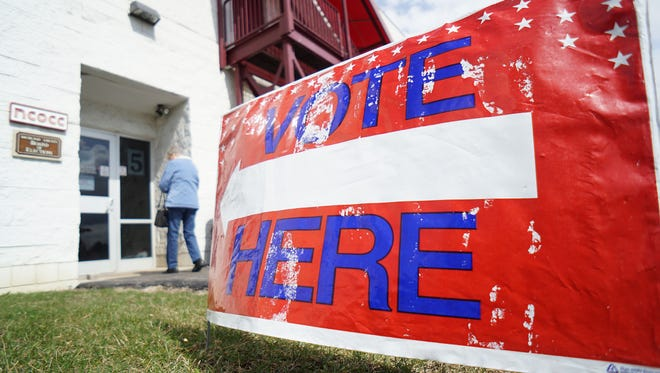 The primary on May 7 will decide which Democrats will face their Republican counterparts in four races.