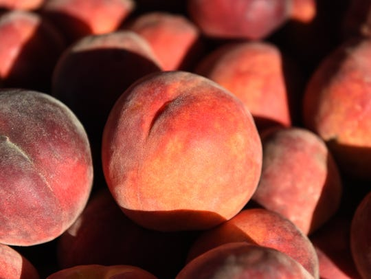 Peaches are a highlight of Northern Nevada farmers