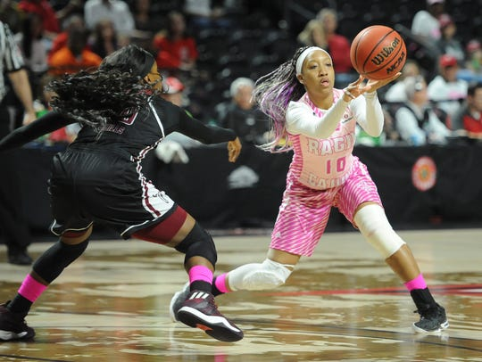 These photos are from last year's Pink Game