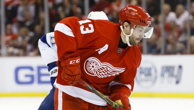 Red Wings center Pavel Datsyuk.