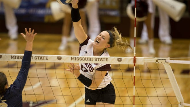 Even with the advance billing that has led to additional attention from opponents, Lily Johnson continues to put up big numbers for Missouri State's volleyball team.