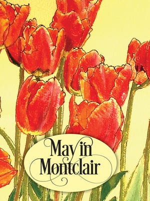 The cover art for the May in Montclair 2017 Calendar of Events was created by local artist Rebecca Rosenheck.