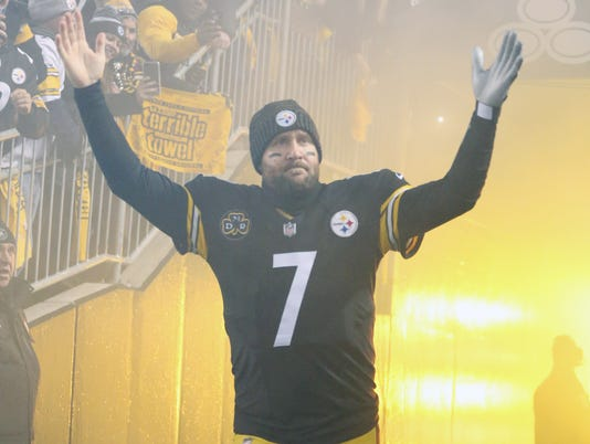 USP NFL: BALTIMORE RAVENS AT PITTSBURGH STEELERS S FBN PIT BAL USA PA