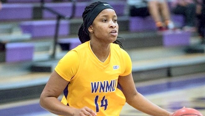 Jayla Brown came off the bench to pour in 10 points to help WNMU rally against the Lions this past week.