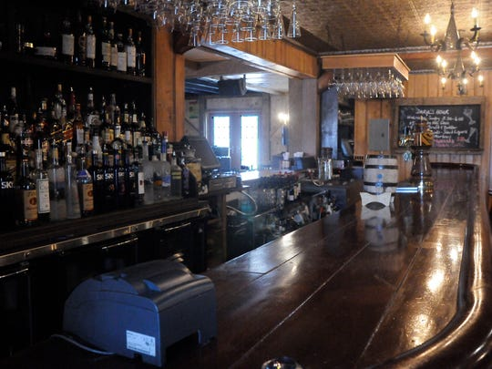 The bar section to Daryl's House, a restaurant and live music club located in Pawling and owned by Daryl Hall.