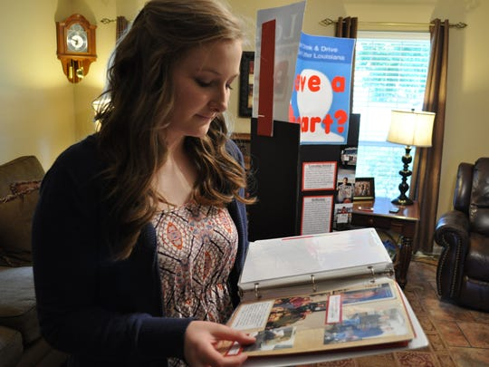 "Pineville High School Senior Lauren Dalme was inspired by the organ donor who have her a ""special gift,"" as well as others she knew personally, while doing her senior project."