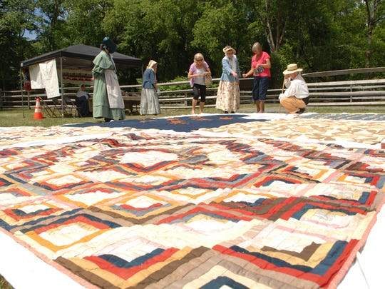 Historic Allaire Village hosted a Civil War Encampment on May 30th and 31st. The event featured an artillery demonstration, dress parade, vintage baseball game, fashion show with peroid costumes and a quilt display.
