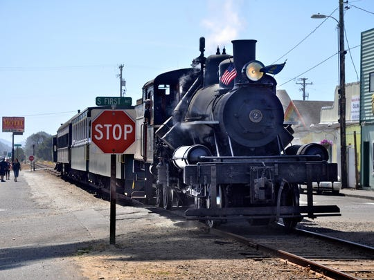A nonprofit group began leasing the intact track between Tillamook and the Salmonberry River for summer excursions. Passenger cars of the Oregon Coast Scenic Railroad are pulled back and forth 5 miles from Garibaldi to Rockaway Beach. Longer dinner excursions steam to the mouth of the Salmonberry River. For prices and schedules, check oregoncoastscenic.com.
