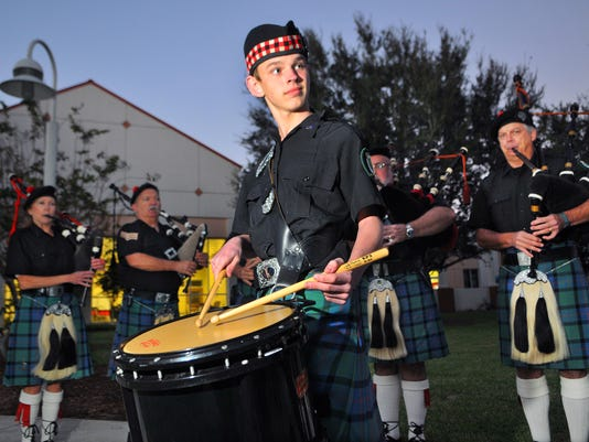 AIDEN ROUSE HIGHLANDS PIPES AND DRUMS