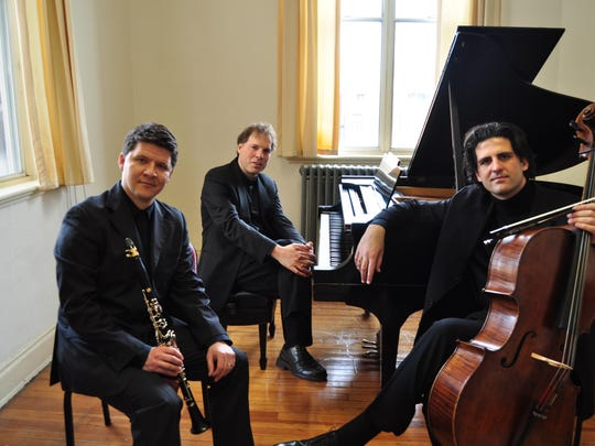 The Goldstein-Peled-Filterstein Trio performs March 13 at the Howland Cultural Center in Beacon.