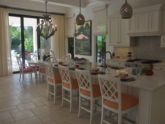 The Benita in Miromar Lakes Beach & Golf Club is a new model that just opened in the Portofino neighborhood.