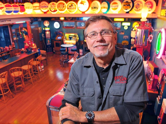 Walt Kostrzewa is owner of Past Gas Co. in Cocoa Village.