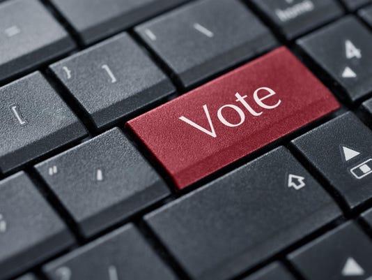 Voting concept.