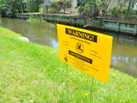 Sewage canal