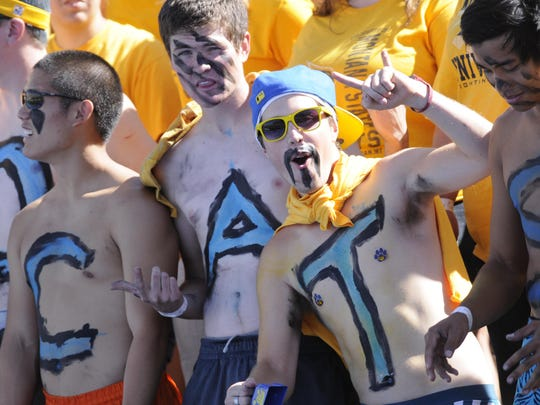 """Montana State's annual """"Gold Rush Game"""" is Thursday night in Bozeman."""