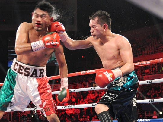Nonito Donaire scores bloody decision vs. Cesar Juarez to win 122-pound title