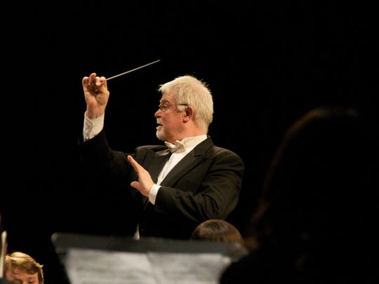 Conductor Larry Garrett will direct the Finale from Tchaikovsky's Fifth Symphony in his final concert before retiring from Salem Youth Symphony after 20 seasons. Catch the concert 3 p.m. April 30 at Smith Auditorium, Willamette University. $10, $5 seniors and free ages 18 and younger.