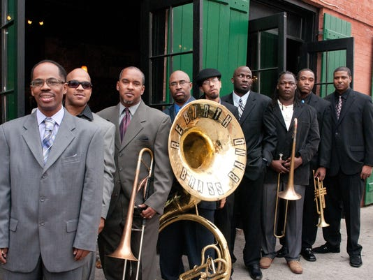 Rebirth Brass Band (by Jeffrey Dupuis)