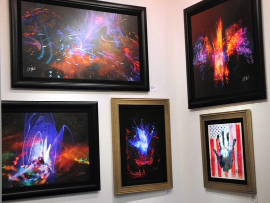 """Angels and Icons"" by Rick Allen is now on display at Wentworth Gallery at the Mall at Short Hills."