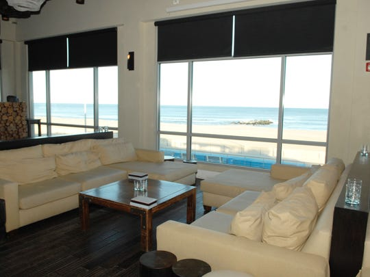 The Watermark Lounge, 800 Ocean Ave. on the boardwalk in Asbury Park, boasts a stunning ocean view.