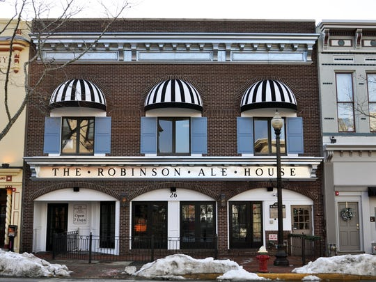 The Robinson Ale House is a new restaurant and bar along Broad Street in Red Bank. The Ale House is a recent addition to the McLoone franchise.