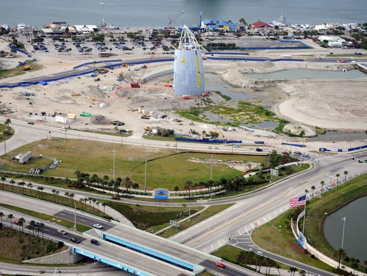 PORT CANAVERAL CONSTRUCTION