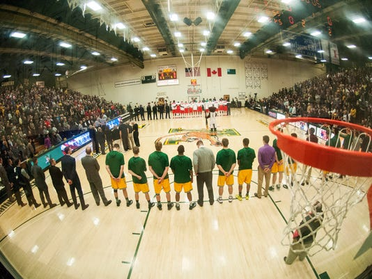 Stony Brook vs. Vermont Men's Basketball 01/10/15