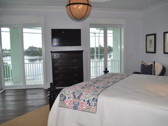 All four bedrooms in every home have a water view.