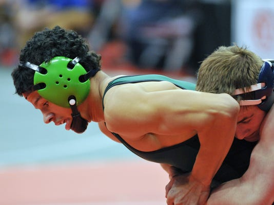 Wrestling: State Championships, Day 1