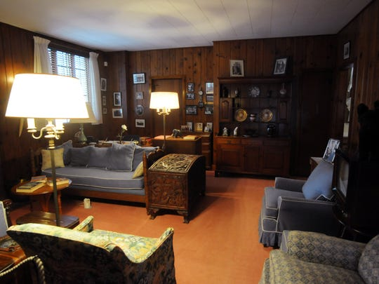 Inside the Val-Kill Cottage at the Eleanor Roosevelt National Historic Site in Hyde Park.