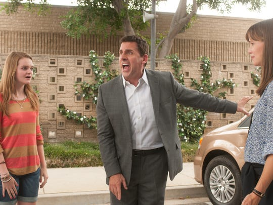 """Steve Carell, Kerris Dorsey and Jennifer Garner star in """"Alexander and the Terrible, Horrible, No Good, Very Bad Day."""""""