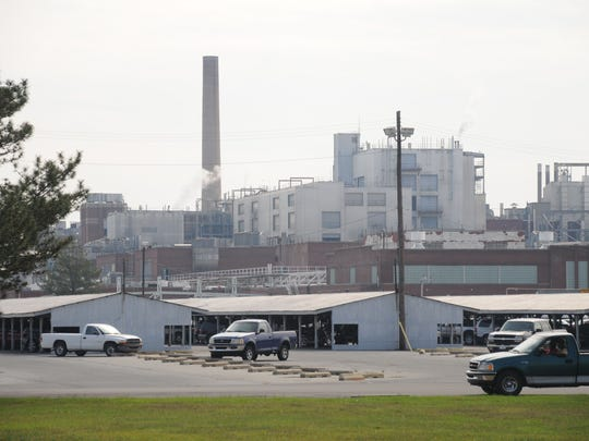 DuPont facility: More than 4,000 worked at DuPont's Seaford nylon factory at its peak, helping build a true factory town in western Sussex County. About 100 worked there last year.