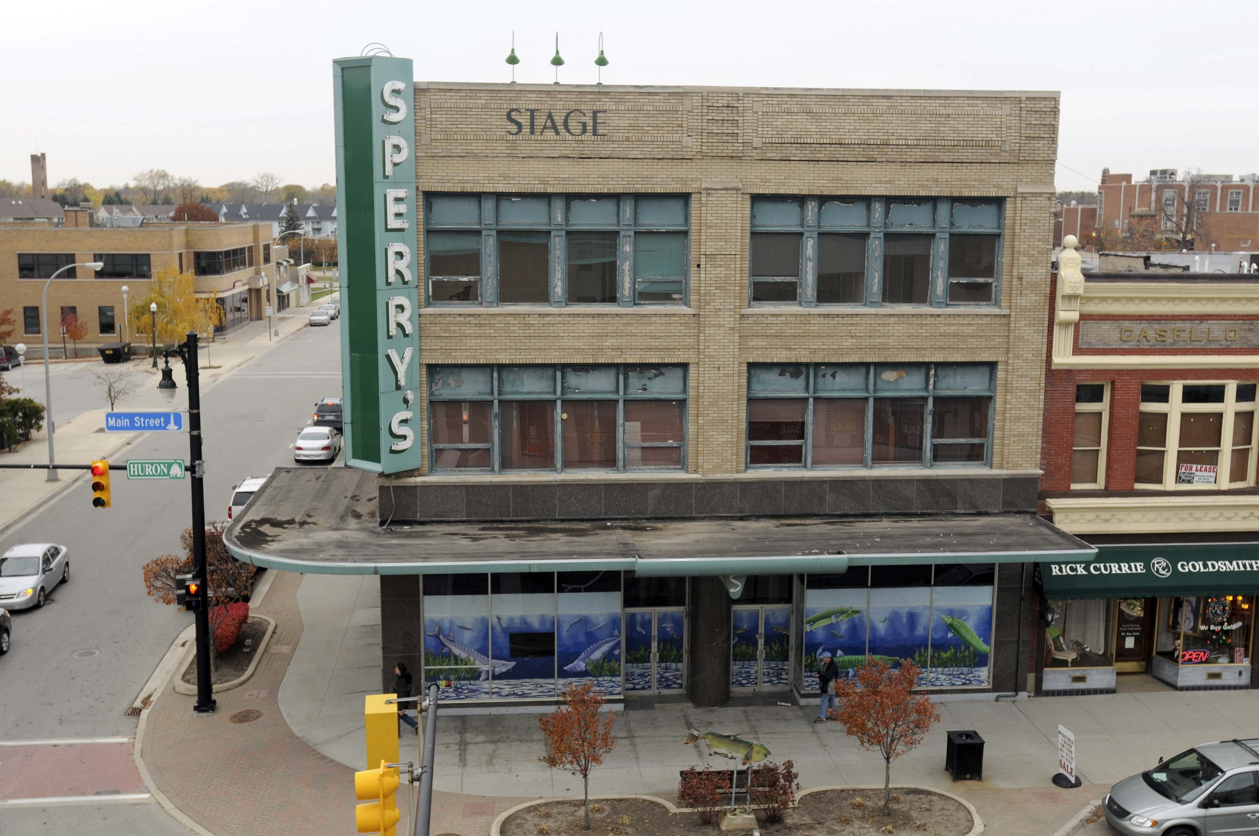 The Sperryu0027s Building In Downtown Port Huron. (Photo: MARK R. RUMMEL/TIMES  HERALD)