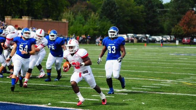 Running back Damorria Lilly and Olivet College begin the 2015 season Saturday when the Comets host Earlham (Ind.). Kickoff is 1 p.m.