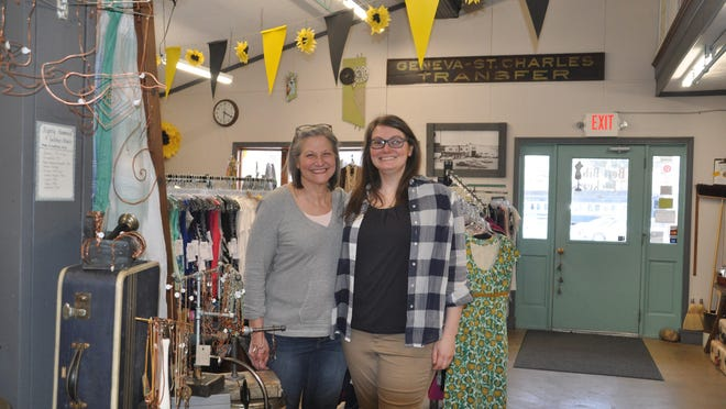 Barb and Megan Wise own the Best Bib and Tucker shop in Hartville. Megan Wise is also the tourism coordinator for Discover Hartville with the Lake Township Chamber of Commerce.
