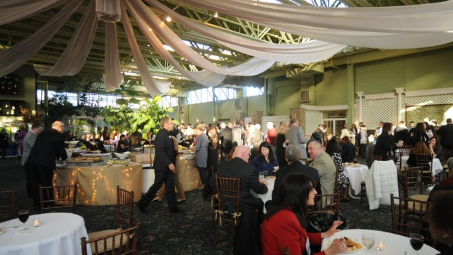 Guests mingle during the United Way of the Dutchess-Orange Region's Awards Ceremony, held at Anthony's Pier 9 in New Windsor Thursday. A good crowd turned out for the event, which honored the organization's many partners and volunteers.
