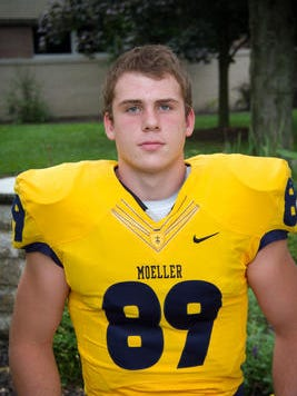 Moeller 2016 TE Jake Hausmann is rated the nation's top tight end by Rivals.com.